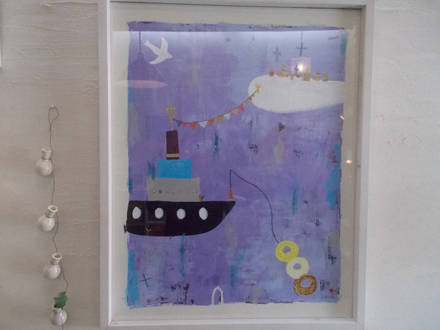 雲と船とドーナツ